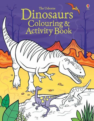 Usborne-Coloring & Activity Book Dinosaurs