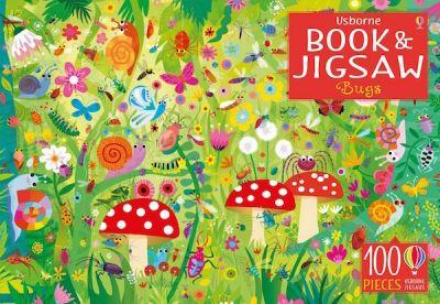 Usborne-Book & Jigsaw Bugs