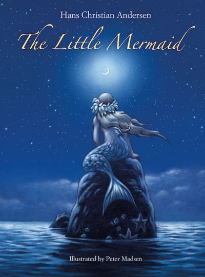 Carlsen The Little Mermaid-English Blue 64 Pages