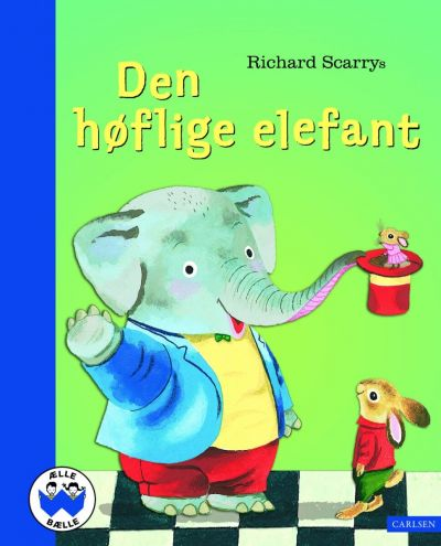 Carlsen Billede bog Den høflige elefant