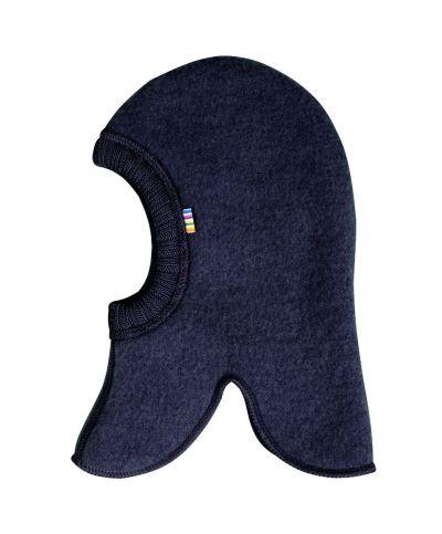JOHA Elefanthue Uld Fleece Dk Blue