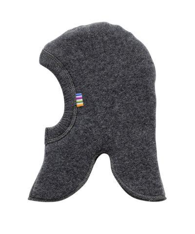 JOHA Elefanthue Uld Fleece Koks Melange