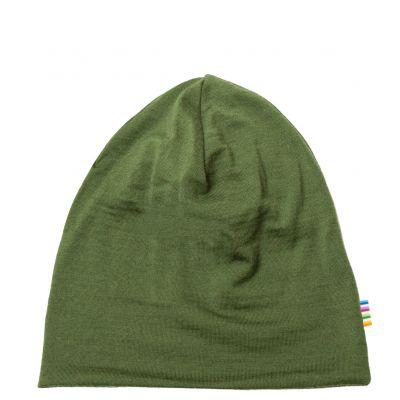 JOHA Hat Double Layer Mørk Salvie