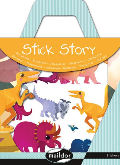 MAILDOR Stick Story Dinosaurs