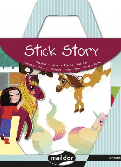 MAILDOR Stick Story Horses