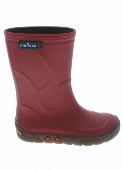Meduse Rubber Boots Airbus Rouge Fonce/Chanvre