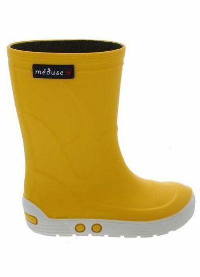 Meduse Rubber Boots Airport Jaune/Blanc
