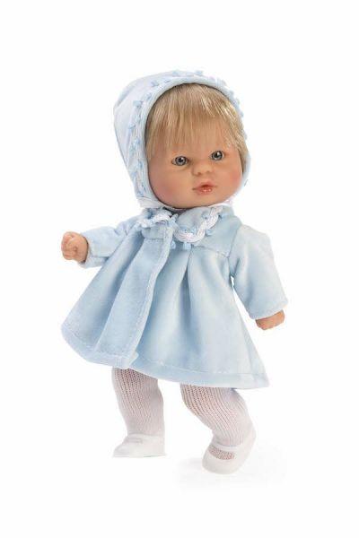 Andemor Babydukke Bomboncín Babypige Blond