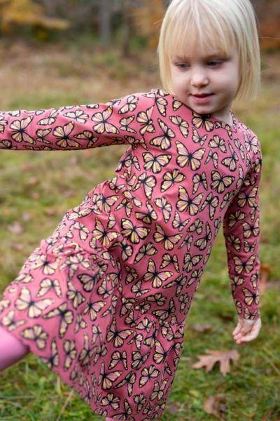 Birdy Dress Dark Rose FLUTTER