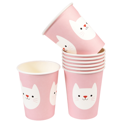 RL Paper Cups Cookie the cat