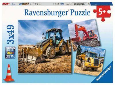 Ravensburger Puzzle 3x49 Brk Diggers at work