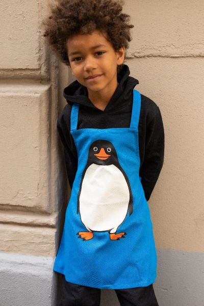 DYR Apron - Kids Blue PINGVIN