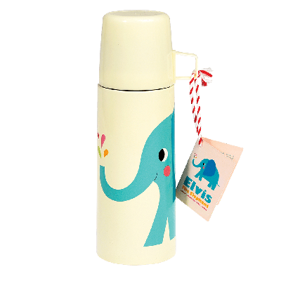 RL Flask & Cup Elvis the elephant