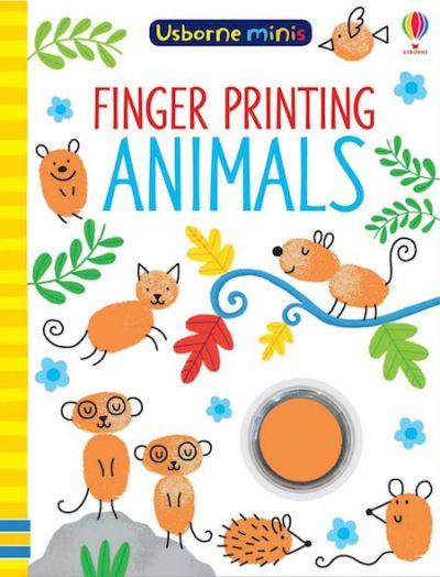 Usborne-Minis Finger Printing Animals