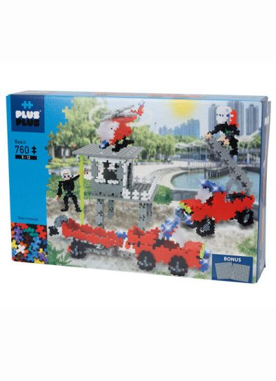 Plus Plus Fire and Rescue 760 PCS Basic
