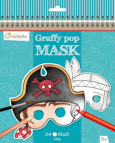 Avenue M Graffy Pop Mask Boys