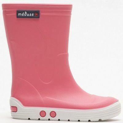 Meduse Rubber Boots Airport Bonbon/Blanc