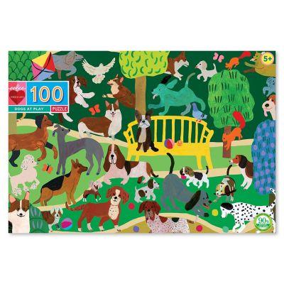Room2play Puslespil 100 Brk Hunde i Leg