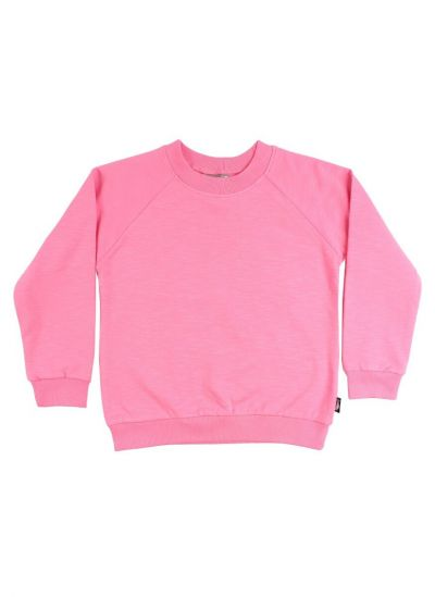 ESS - ORGANIC Mineral Sweater Happy Pink