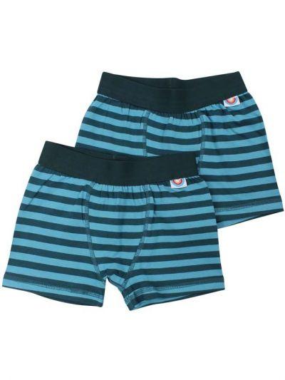 BIFROST - 2Pak Underwear Boys Dark Duck/Aqua Ice