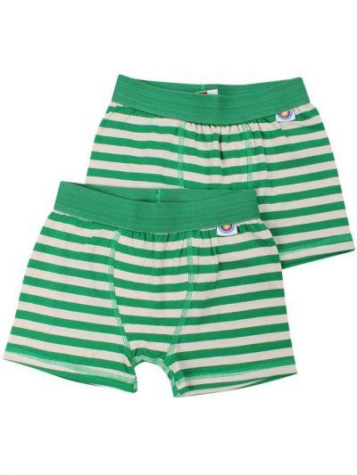 BIFROST - 2Pak Underwear Boys Green/Chalk