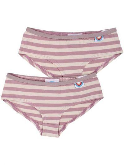 BIFROST - 2Pak Underwear Girls Cold Rose/Chalk