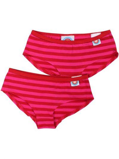 BIFROST - 2Pak Underwear Girls Red/Hotpink