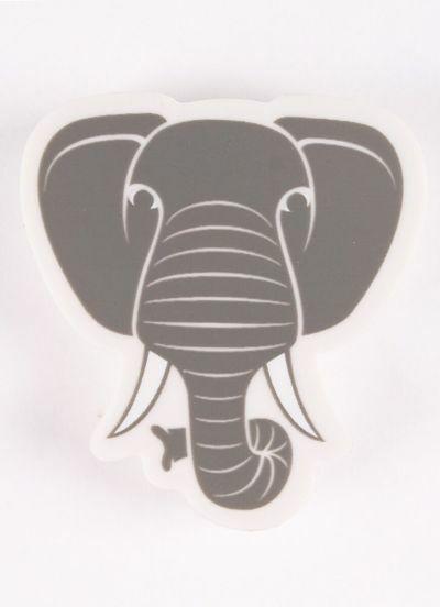 Dyr Eraser Elephant