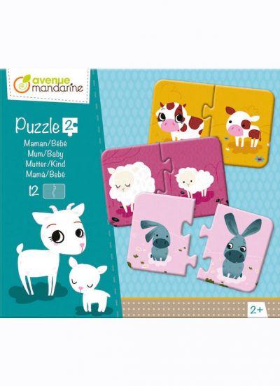 Avenue M Puzzle 2 Pcs Mum & Baby