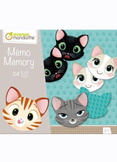 Avenue M Memory Game Cats & Expressions