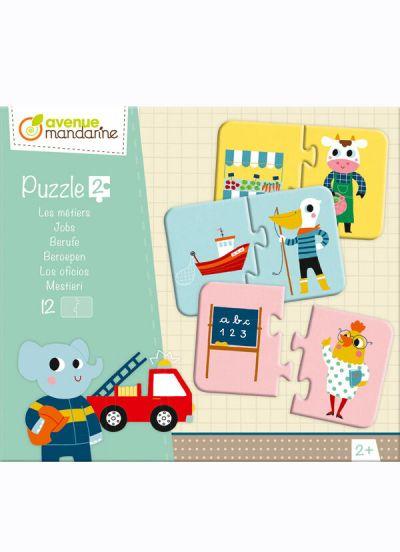 Avenue M Puzzle 2 Pcs Jobs
