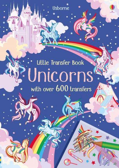 Usborne-Little Transfer Book Unicorn