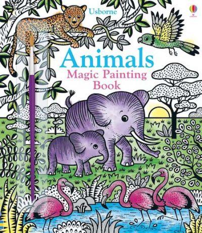 Usborne-Magic Painting Book Animals