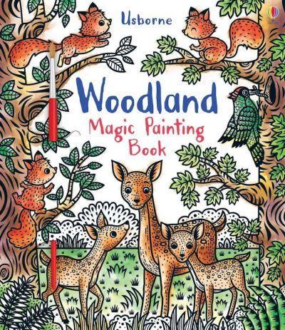 Usborne-Magic Painting Book Woodland