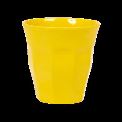 Rice Melamin Kop - Medium Yellow