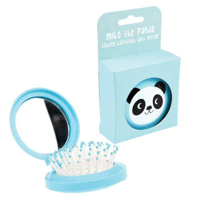RL Compact Hairbrush Miko the Panda