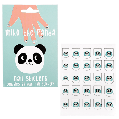 RL Nail Stickers Miko the Panda