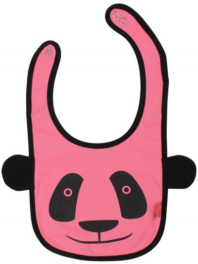 Munchie Bib Fashion Pink 3D PANDA