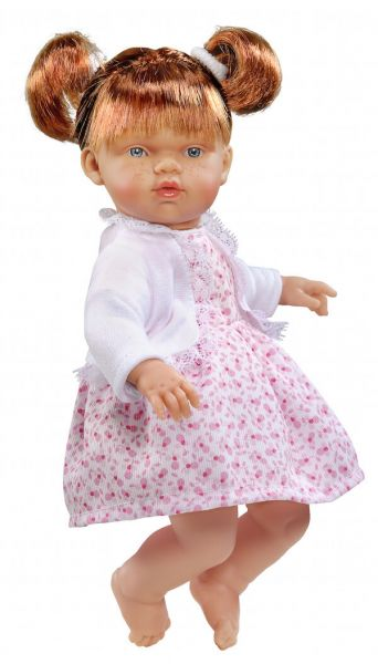 Andemor Babydukke Nata 25cm Flores C/Chaqueta