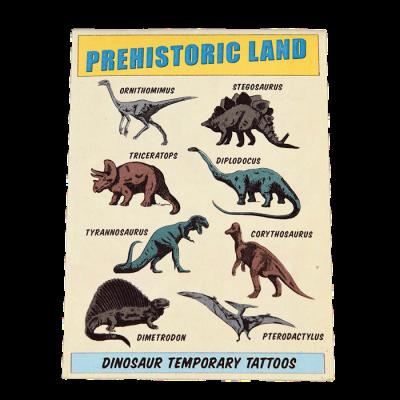 RL Temporary Tattoos Prehistoric Land