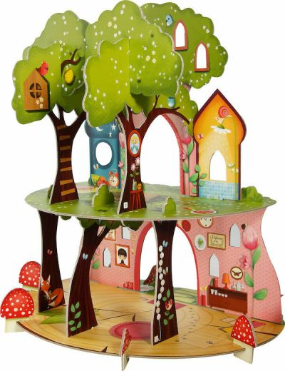 Avenue M Puzzle 3D Scene Fairy Tree