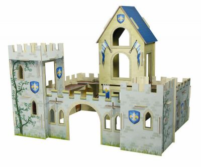 Avenue M Puzzle 3D Scene Knight Castle
