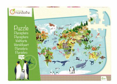 Avenue M Puzzle Planisphere