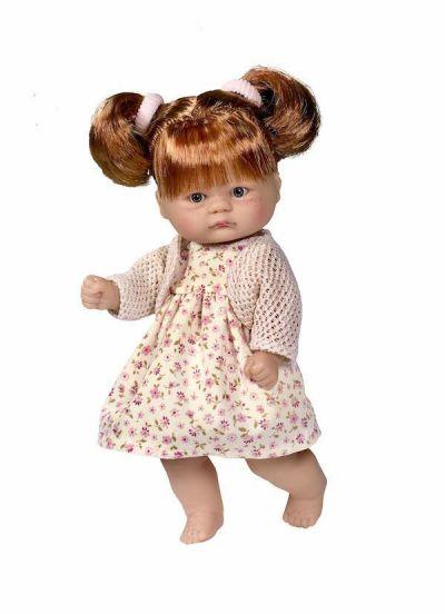 Andemor Babydukke Bomboncín Babypige Rødbrunt