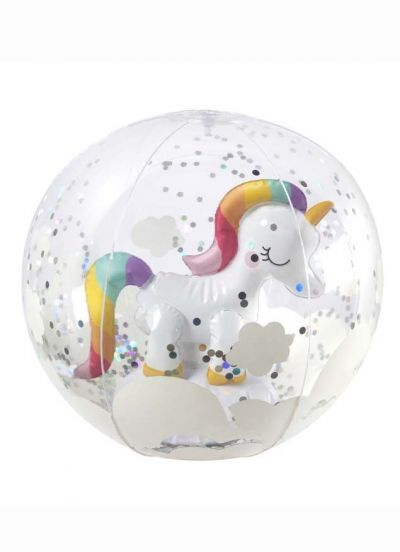 Sunnylife Beach Ball 3D Unicorn