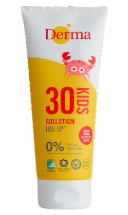 Derma Kids Sun Lotion SPF30 500ml  Parfumefri