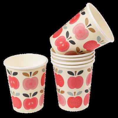 RL Paper Cups Vintage apple