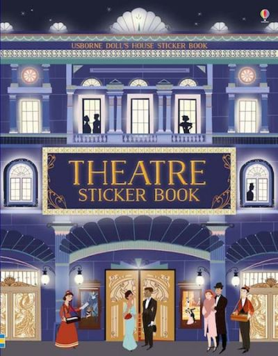 Sticker Book Doll's House-Theatre