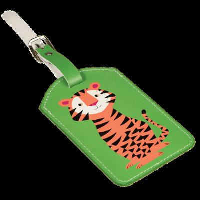 RL Luggage Tag Tiger