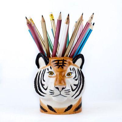 Quail Pencil Pot Tiger